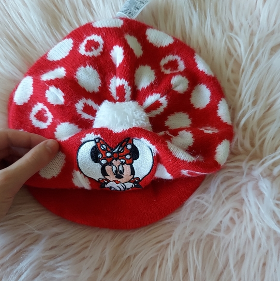 Minnie Mouse Baby Beret Hat